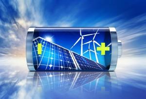 Solarstrom-speicher